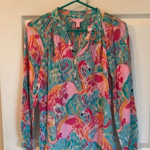 NWOT Lilly Pulitzer Elsa top Peel and eat
